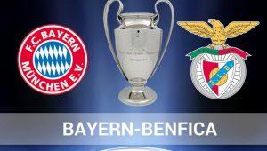 Бавария — Бенфика,  прогноз и анонс матча Лиги чемпионов,   5.04.2016