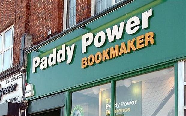Paddy Power БК - пункт приема ставок