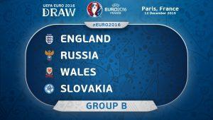 группа В, евро-2016