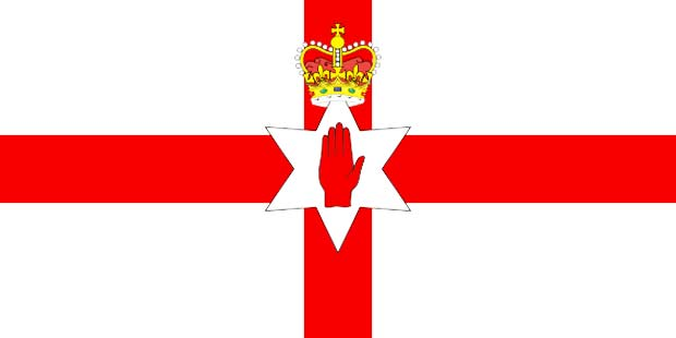 северная ирландия флаг