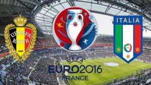 Бельгия – Италия,  прогноз и анонс матча Евро-2016,   13.06.2016