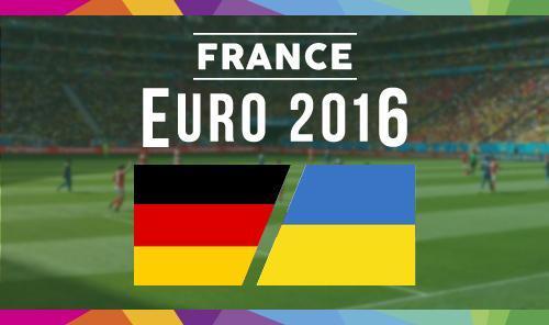 Германия – Украина,  прогноз и анонс матча Евро-2016,   12.06.2016