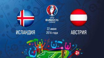 Исландия – Австрия,  прогноз и анонс матча Евро-2016,   20.06.2016