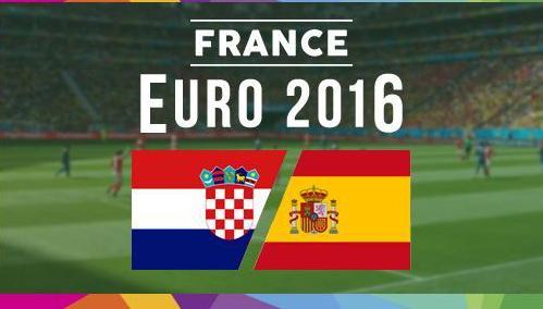 Хорватия – Испания,  прогноз и анонс матча Евро-2016,   20.06.2016