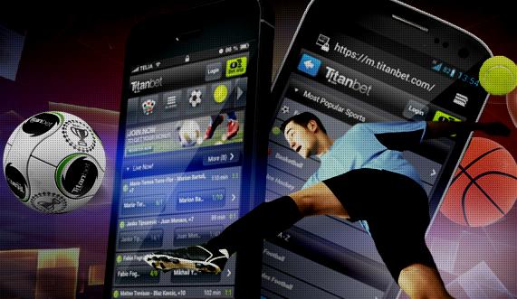 Мобильное приложение Titanbet