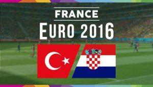Турция – Хорватия,  прогноз и анонс матча Евро-2016,   12.06.2016