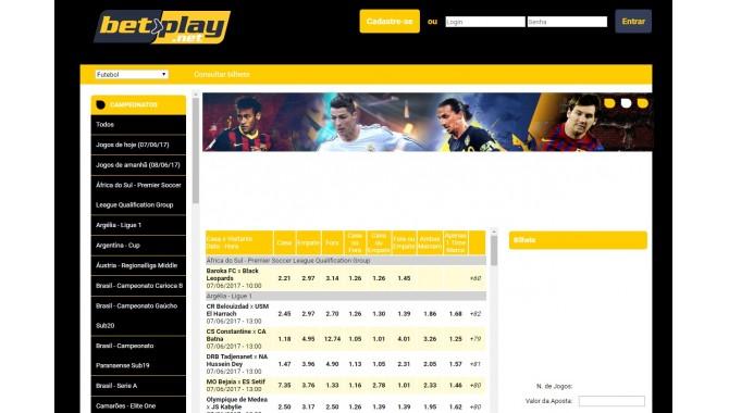 Betplay БК - главная страница