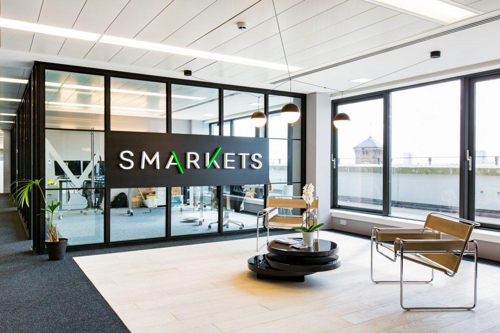 Smarkets - букмекерская контора. Фото офиса