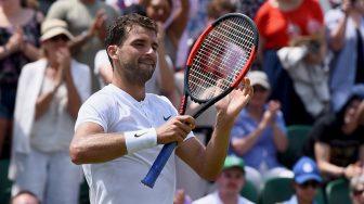 Большой теннис ATP. Уимблдон. Димитров Г. vs Села Д.