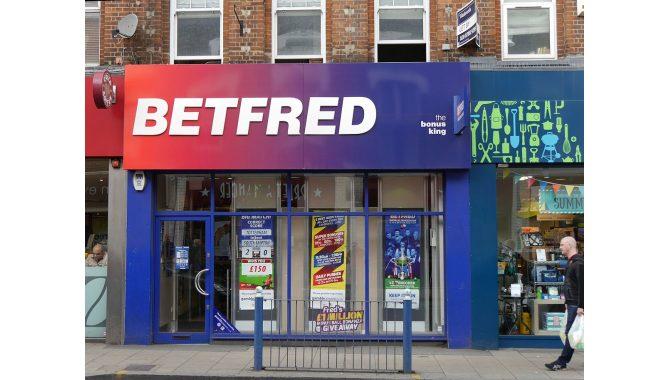 Betfred com. Внешний вид ППС