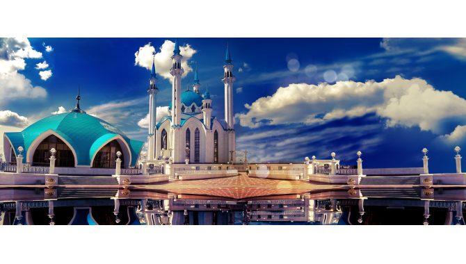 1xbet в Казани. Панорама городе