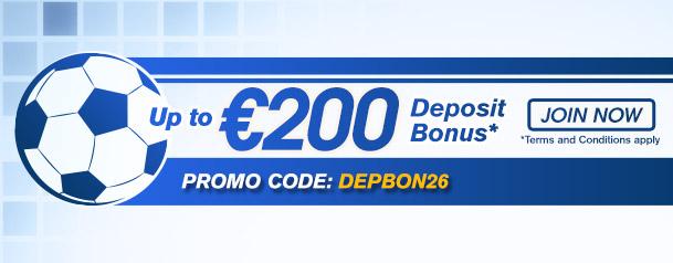 Sbobet (Бонус). 200 евро