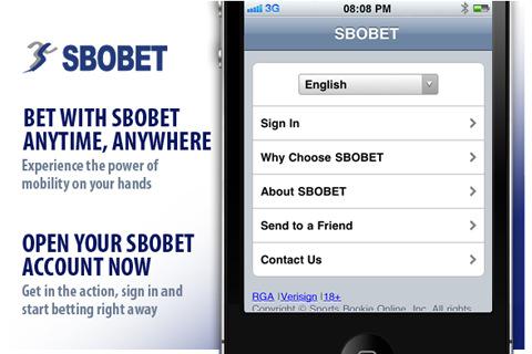 Sbobet Mobile. Мобильное приложение