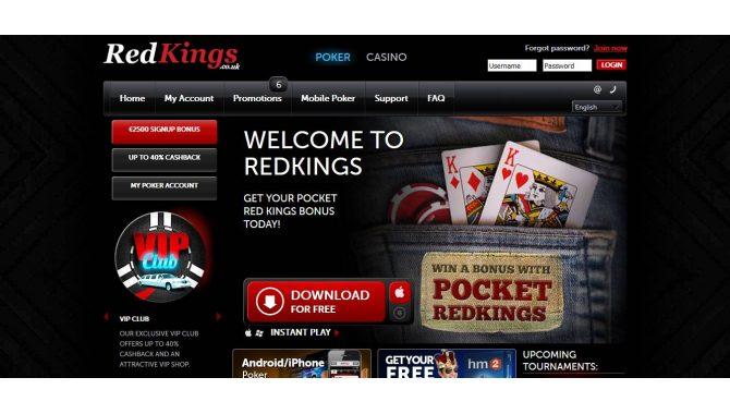 BetRedKings - букмекерская контора: главная страница