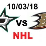 ДАЛЛАС – АНАХАЙМ. 10 МАРТА. ПРОГНОЗ НА НХЛ