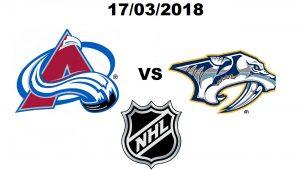 КОЛОРАДО – НЭШВИЛЛ. 17 МАРТА. ПРОГНОЗ НА НХЛ