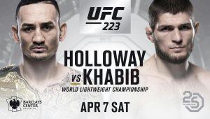 Макс Холлоуэй – Хабиб Нурмагомедов. 08 апреля. Прогноз на UFC-223