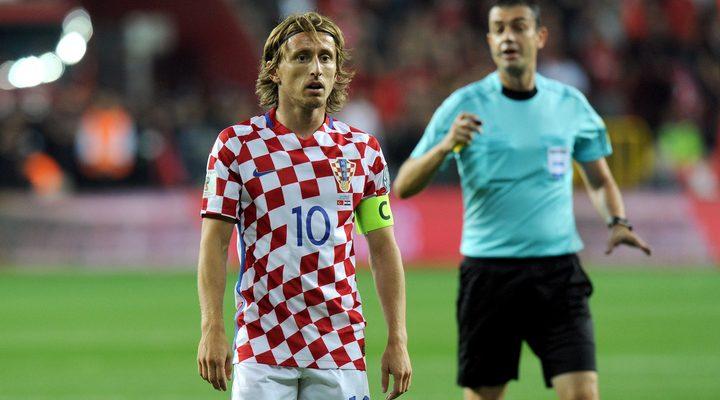 Лука Модрич. Хорватия