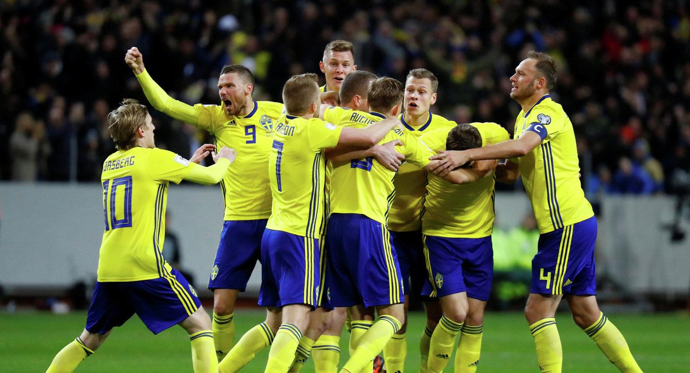 борная Швеции по футболу