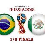 Бразилия – Мексика. Прогноз на матч 02 июля 2018. 1/8 финала ЧМ-2018