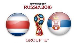 Коста-Рика – Сербия. 17 июня. Прогноз на ЧМ-2018