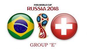Бразилия – Швейцария. 17.06.2018. Прогноз на ЧМ-2018