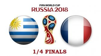 Уругвай – Франция. Прогноз на матч 06 июля 2018. ¼ финала ЧМ-2018
