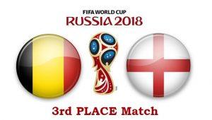 Бельгия – Англия. 14 июля 2018. Прогноз на матч за 3-е место на ЧМ-2018