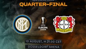Интер — Байер. Прогноз на матч 10 августа 2020. Лига Европы. 1/4 финала
